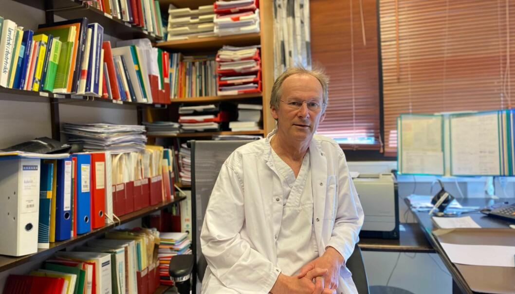 URETTFERDIG: Kommuneoverlege i Vik, Helge Johan Bjordal, tykkjer skrivfordelinga av vaksinar er urettferdig.