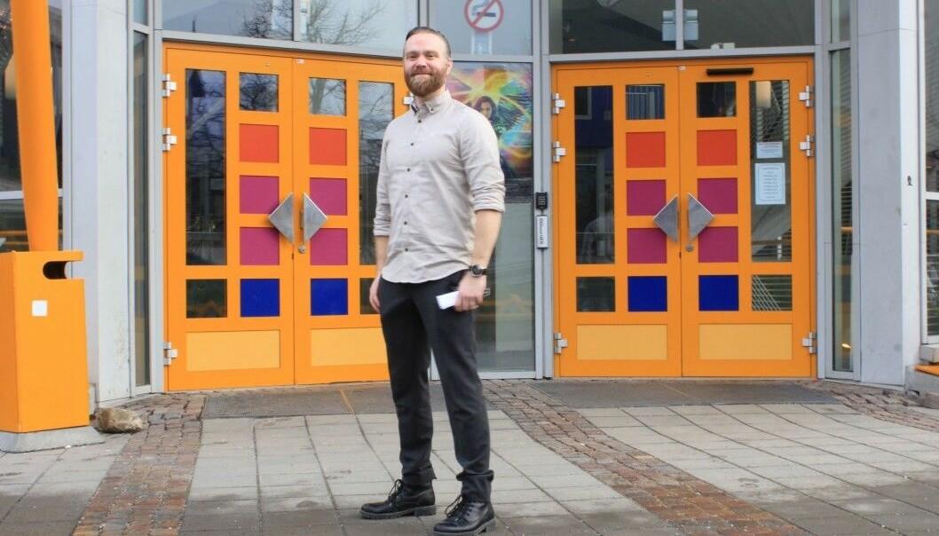 Kulturhussjef Stig Blindheim Hansen har jobba med å få spennande program til Sogndal.