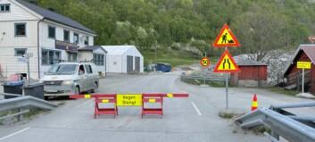 Seimsdalstunnelen held stengd: Problem med fjellet