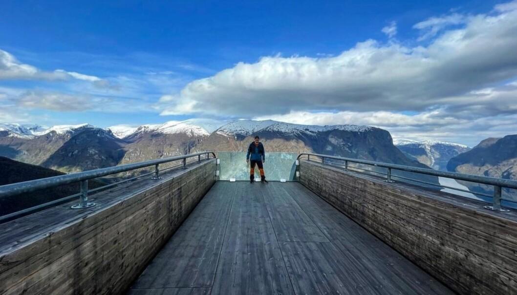 FLOTT: Turen til Aurland var ein soleklar favoritt.