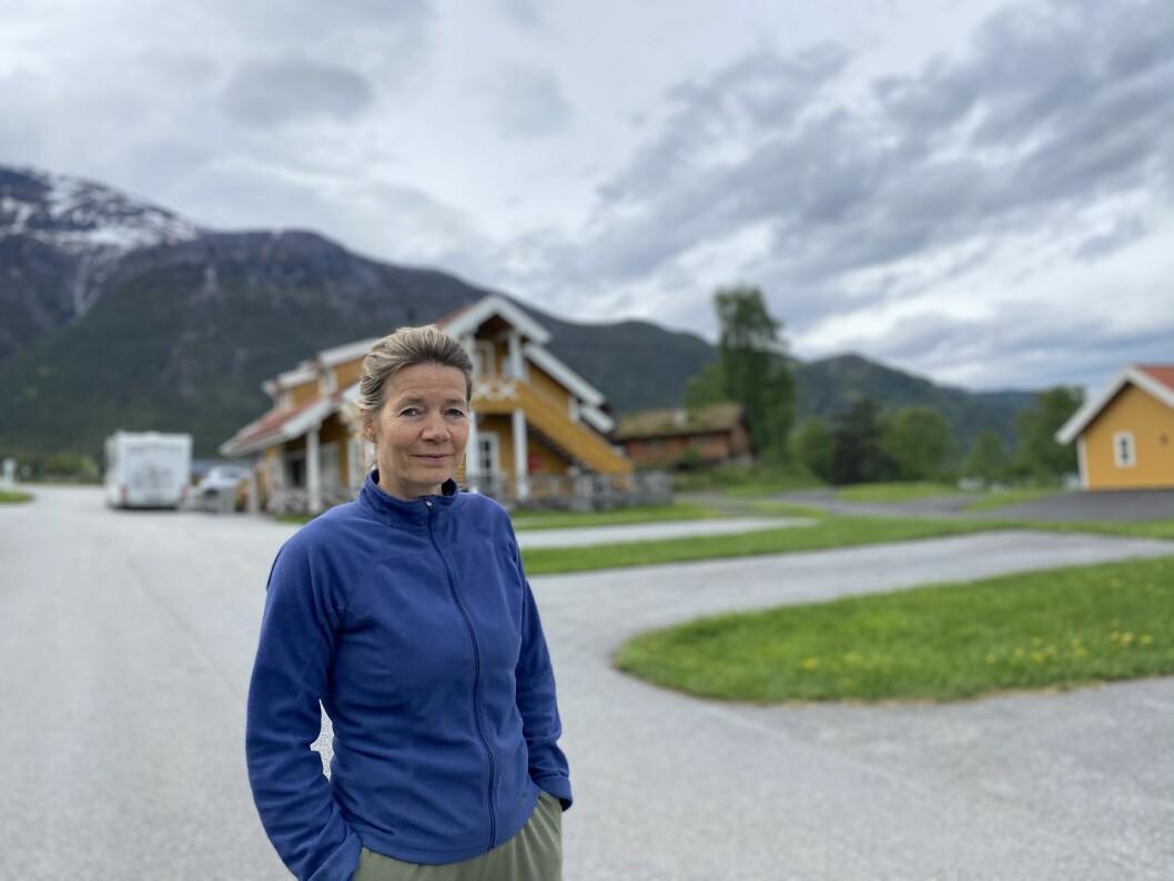 TRAVEL: Eli Helga Grimsen ved Kjørnes Camping.