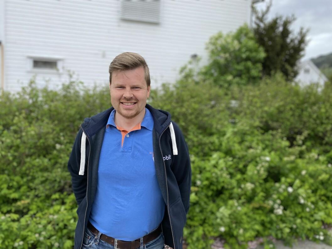 REDNINGSMANN?: Svein Ove Bergseth meiner ei så aktiv gruppe som