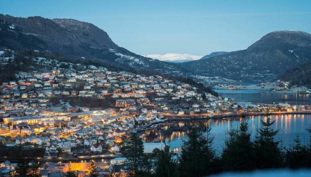 SOGNDAL: Endte med slosskamp i Sogndal sentrum natt til søndag.