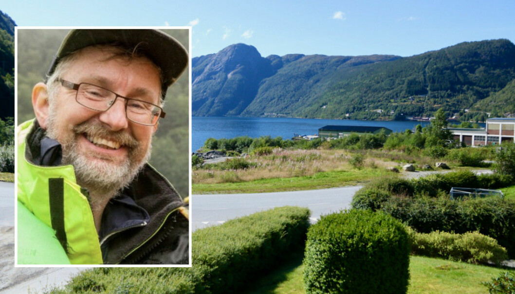 OPPSTART: Dagleg leiar i Aller Aqua Norway, Sturle Skeidsvoll, jobbar for at bygginga av Vadheim akvapark kan starte dette året, men koronapandemien har skapt seinkingar.