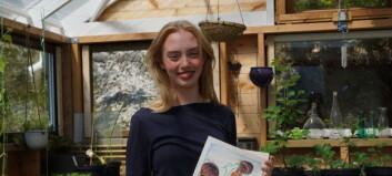 Då Solveig (18) møtte veggen, vart kunsten redninga. I dag tek ho imot draumestipend for arbeidet sitt
