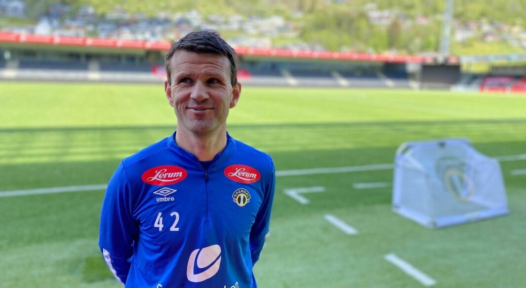 ETTERTRAKTA?: Trass ein dårleg sesongstart blir Eirik Bakke lansert som ein naturleg kandidat til å ta over eliteserieklubben Saprsborg 08