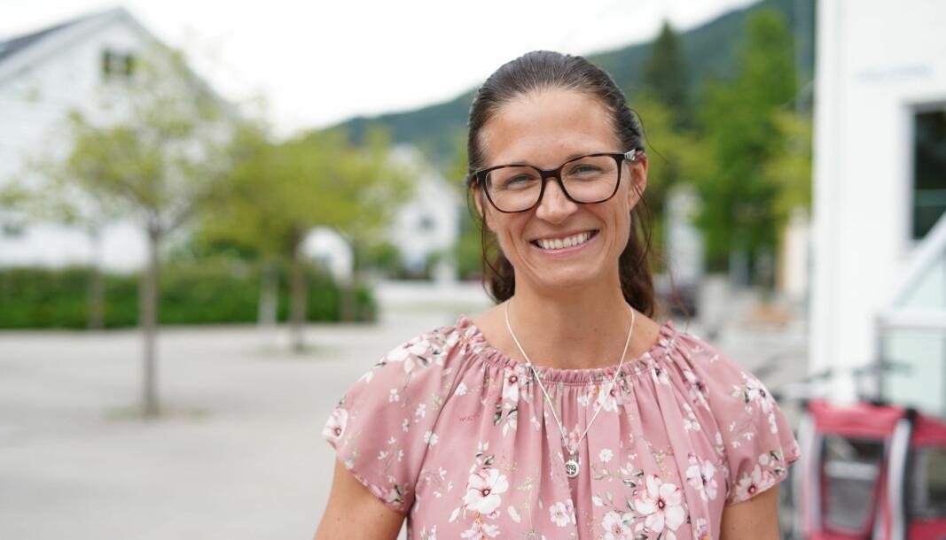 BEHOV: Katrine Evebø i Sogndal kommune fortel at tilbodet har fått gode tilbakemeldingar