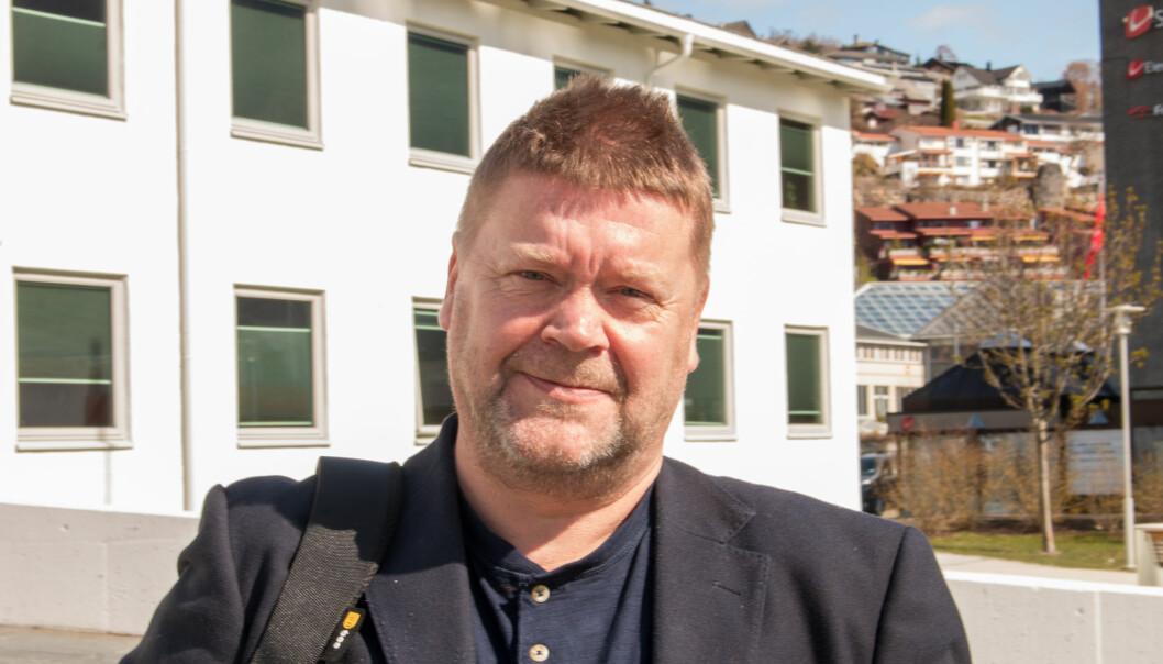 OPTIMIST: Roy Egil Stadheim, ordførar i Vik kommune, har god tru på at Vikafjellstunnelen kan realiserast.