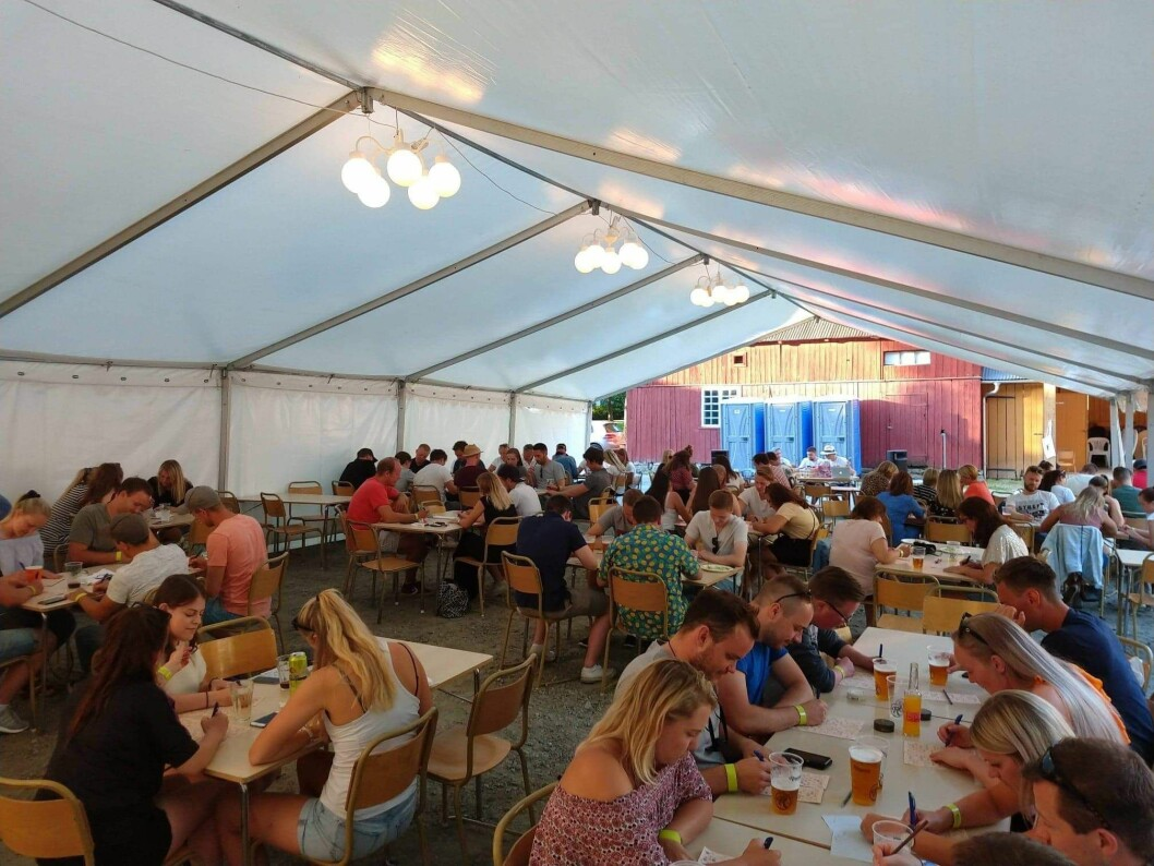 TRADISJON: Quizen er blant dei populære aktivitetane som skal gå av stabelen i årets Kom Heimatt-festival.