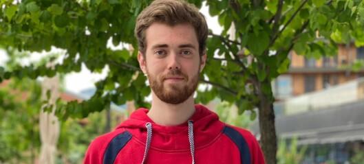 Jon-Hermann (22) kom gjennom nålauget. Skal representere Norge i Tokyo