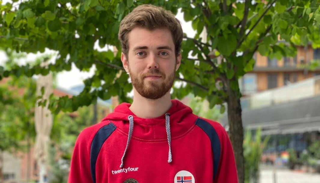 DEI BESTE AV DEI BESTE: Jon-Hermann Hegg frå Lærdal skyt for elitelandslaget. Der imponerar han stort.