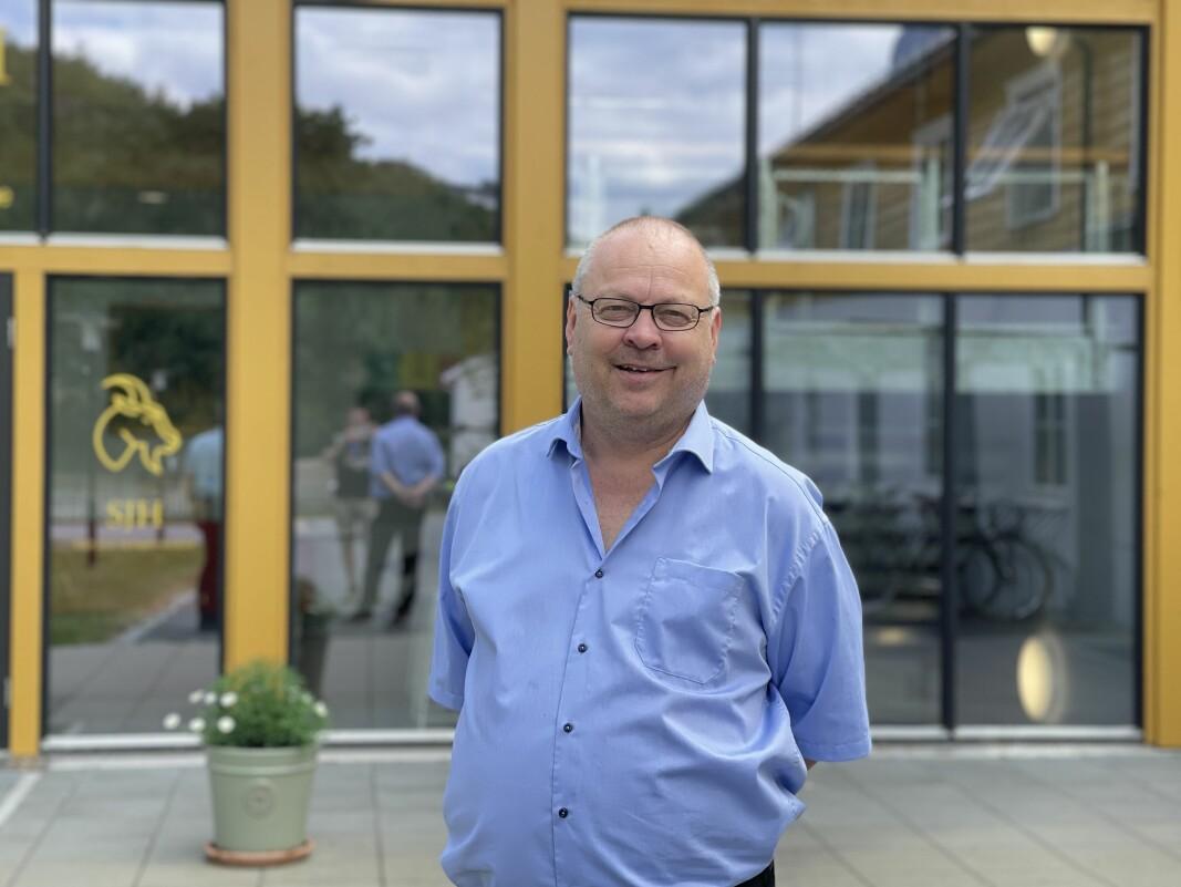 HEKTISK: Geir Kjetil Øvstetun ser attende på eit spennande, men krevjande år som rektor ved to skular.