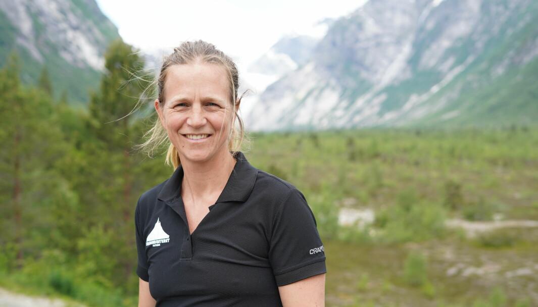 OPPLEVINGAR: Naturrettleiar Marte Meland ser fram til å kunna tilby folk opplevingar i Jostedalen.