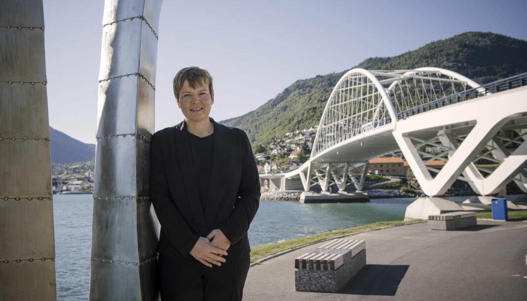 FORSTÅR IKKJE: Trine Lerum Hjellhaug forstår ikkje korleis SV kan komme med eit slikt forslag om arveavgift.