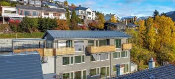 Fleire vil flytte til Sogndal, og prisane stig. Ei leiligheit her kostar nesten sju millionar