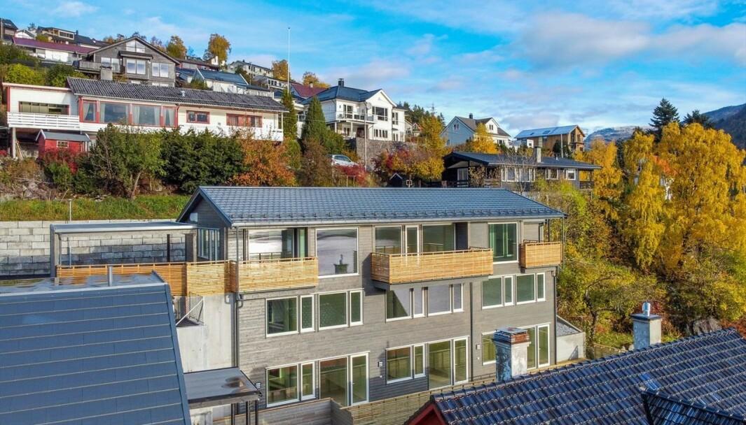 PRISAUKE: Bustadprisane aukar i Sogndal.