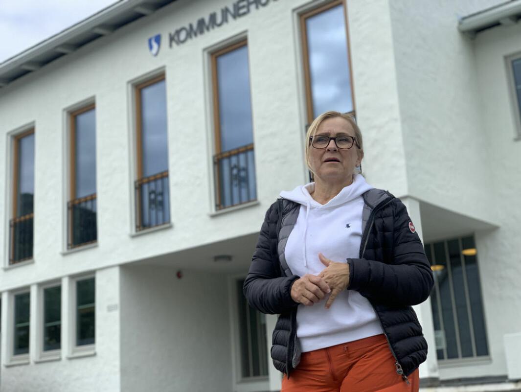 REAGERAR: Rita Navarsete fryktar for konsekvensane av ein mogleg omlokalisering i kommunen.