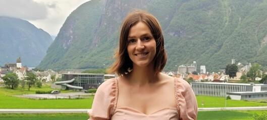 Silje (26) trår til som leiar i Høyanger SV: – Veldig kjekt at dei vil satse ungt