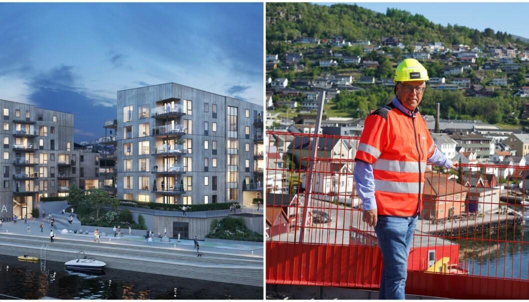 KRITIKK: Lerum Brygge møter kvass kritikk på instagramkontoen til Arkitektur Opprøret.