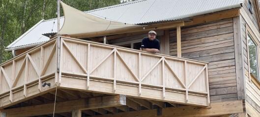 Arkitekten Gøran bur i minihus på 20 kvadratmeter