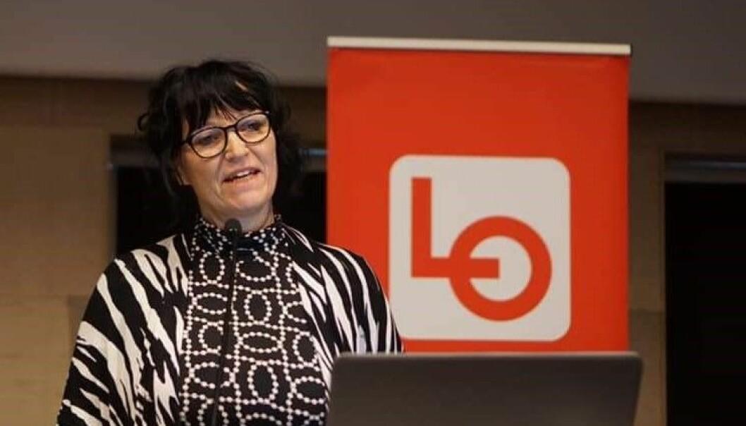 LO: Siv Aspeseter er leiar for profesjonsfagleg utval for vernepleiarar i FO Vestland.