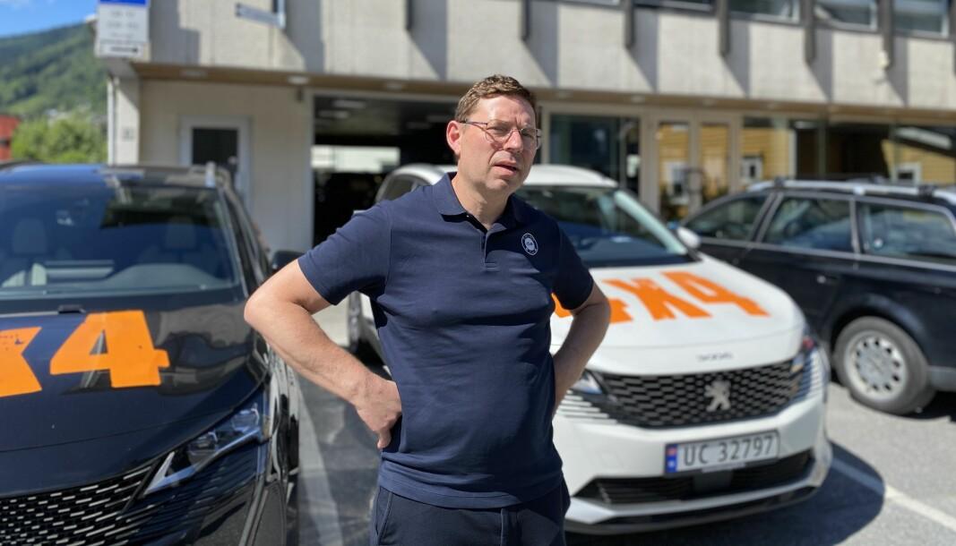 POP-UP: Endeleg kan Alf Roger Lereng utvide bedrifta til Sogndal.