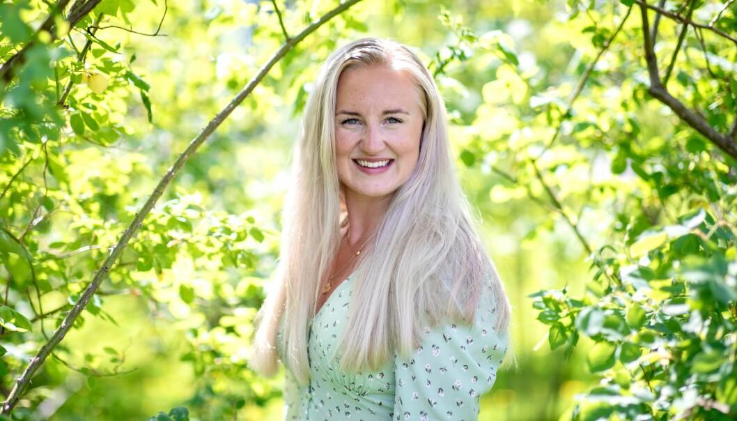 NOMINERT: Lise-May Sæle er nominert til pris for arbeidet ho har gjort for studentane under pandemien.
