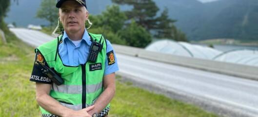 Politiet etterforskar bilulukka på Lomelde: – Me ser ikkje noko klar samanheng mellom dei to ulukkene