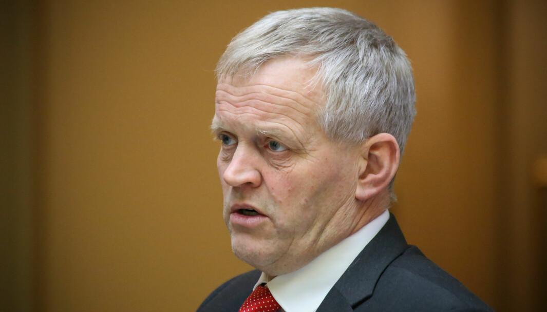 VIL HA ENDRINGAR: Stortingsrepresentant for Senterpartiet, Nils T. Bjørke.