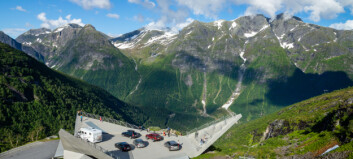 Lite turisme merkast på Gaularfjellet og Aurlandsfjellet