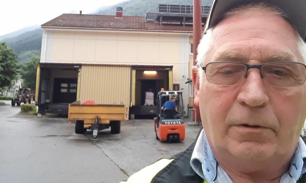VENTANDE: Øyvind gler seg til å reise på Åsete i sommar.