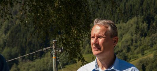 Olve Grotle (H) på friarturné i Sogn: – Distriktspolitikken kan bli endå betre