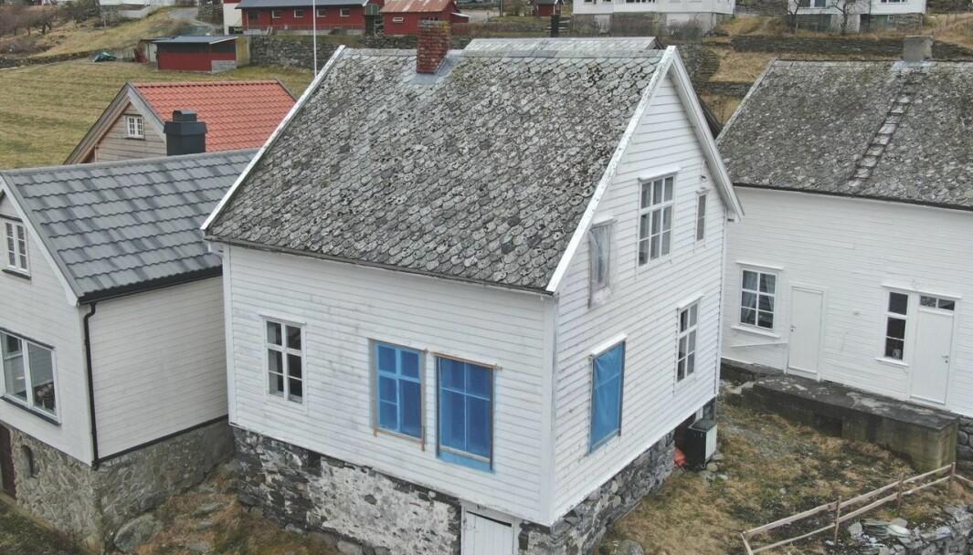 ELDGAMALT: Dette bygget er 141 år gamalt.
