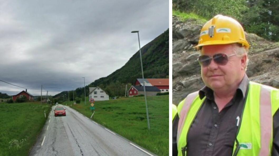 ANBOD: Håkon Birkeland i Birkeland entreprenør forretning fekk likevel lov å byggje E39 mellom Myrmel og Lunde