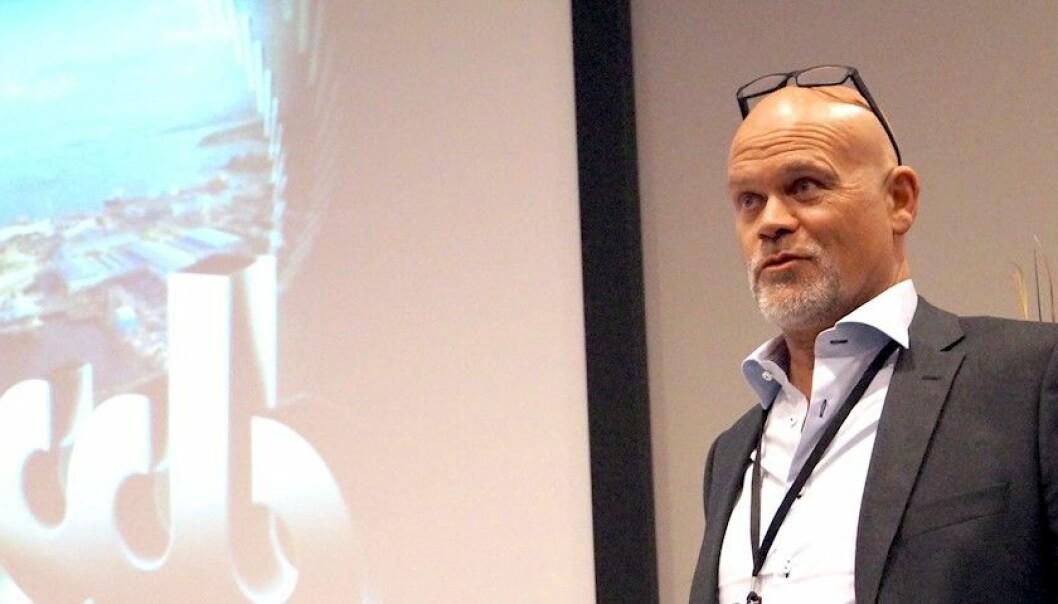 HAR TRUA: Nils Fjærvik i Industriutvikling Vest trur at å hoppe over smelteverket vil kutte klimautsleppa mykje.