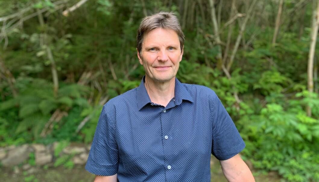 PRØVESVAR: Kommunalsjef for plan og samfunn i Sogndal kommune, Arne Abrahamsen fortel at dei ligg eitt svar unna å opphevja kokepåbodet på Stedje.
