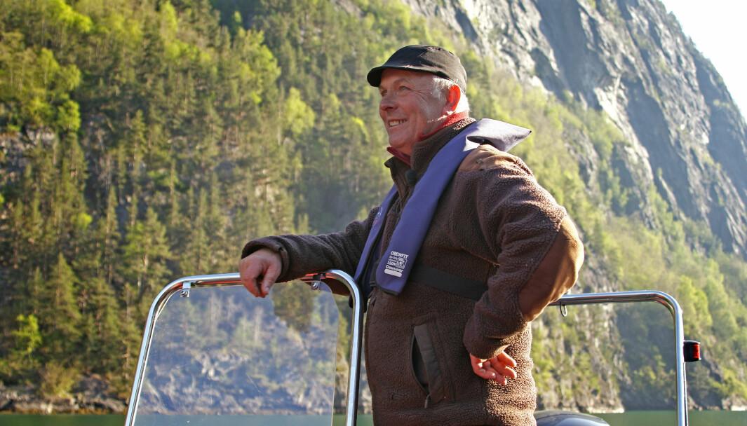 DYRDAL: Einaste fastbuande i Dyrdal, Arild Dyrdal, er svært entusiastisk ovanfor countryveka.