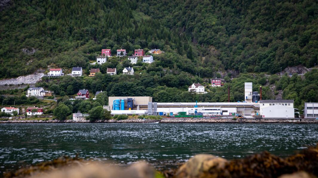 STILLE: Det er førebels stille i Nyrstar sine lokale i Høyanger.