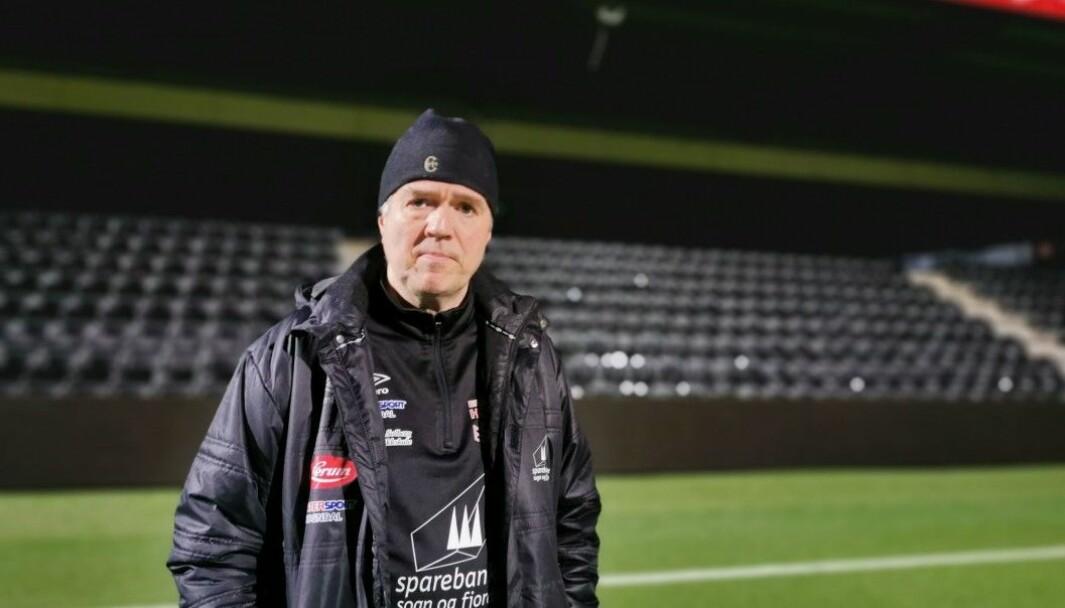 KAMPHELG: Klubbleiar i Fjøra, Knut Idar Kristoffersen har enno tru på at det blir kamp i helga.
