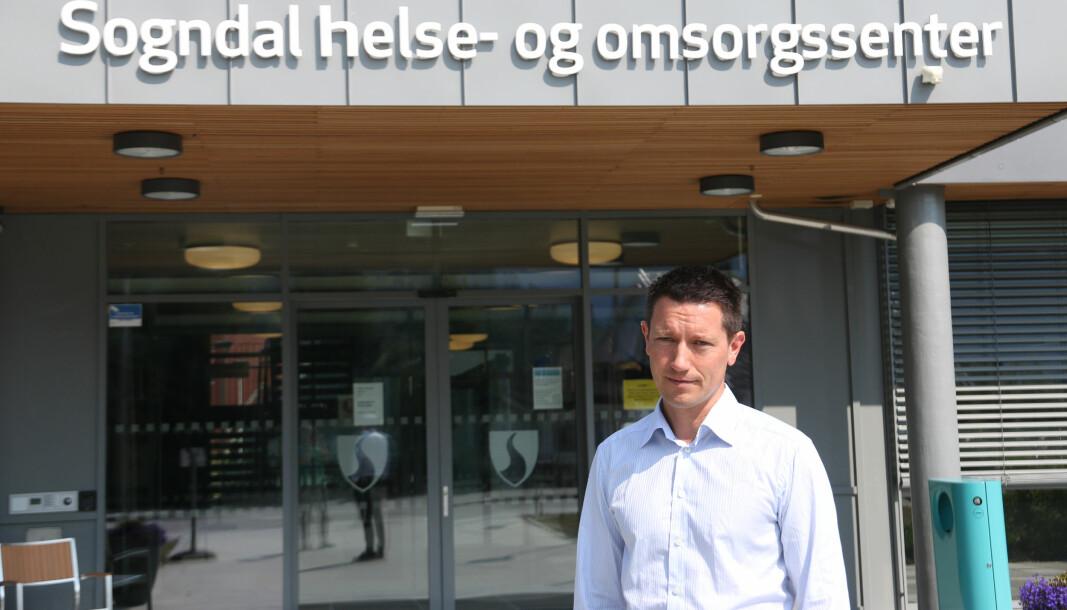 SONGDAL: Under fredagens pressemøte oppdaterte smittevernlege Jan Ove Tryti om smittesituasjonen etter Meat Point-utbrotet.