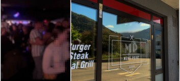 Sjå video: Slik såg det ut medan smitten spreidde seg på utestaden