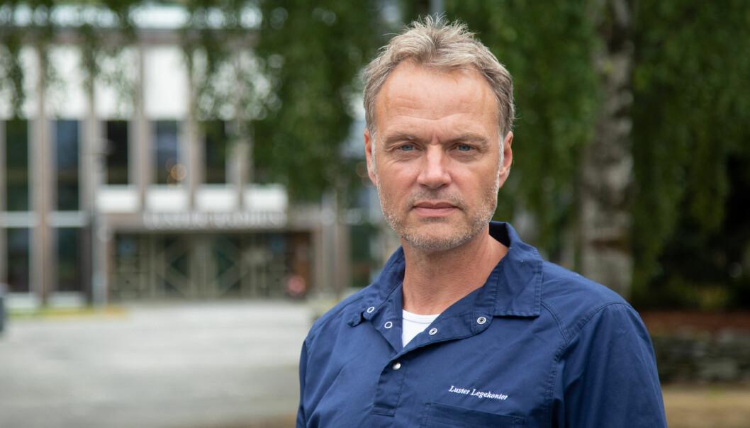NY SMITTA: Mandag kveld fekk Luster kommune melding om ein ny smitta i kommunen.