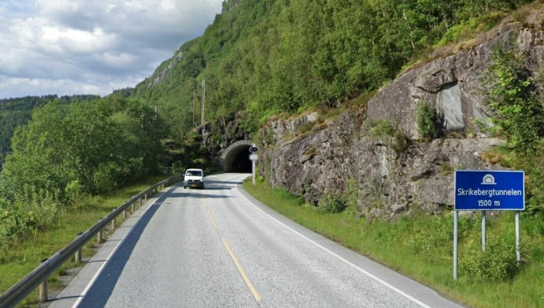 SKRIKEBERGTUNNELEN: Arbeidet med tunnelen skal etter planen vere ferdig i 2023