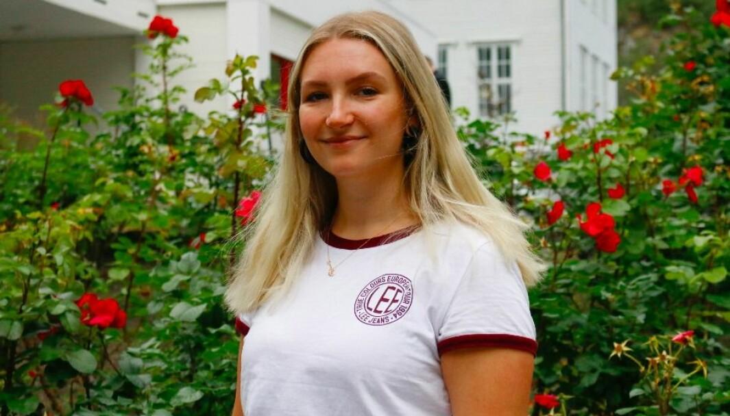 ENGASJERT: For Anita Haglund, har dyrevelferd vore ein vitkig del av hennas val om unngå å ete kjøt og fisk.