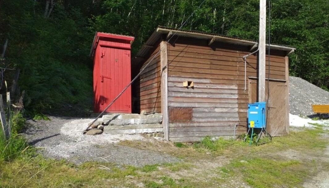LEINA: Det er førebels ikkje noko toalett på parkeringsplassen attmed flåmskyrkja. Det næraste ligg ein kilometer av stad på Leina og blor drifta av Vener av Flåmsdalen.