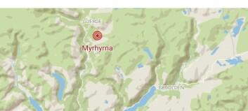 Rykka ut etter rop frå fjellet: – Falsk alarm