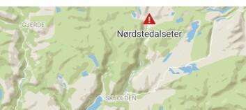 Mann var sakna i området rundt Nørdstedalseter: – Ukjend tilstand