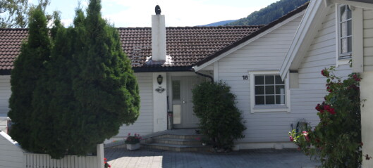 Denne bustaden i Sogndal vart seld for over sju millionar