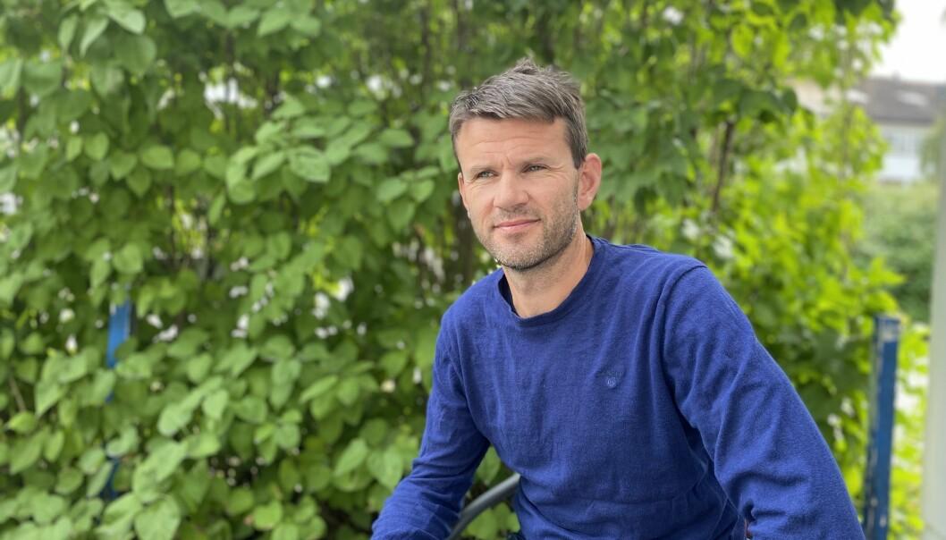SER FRAMOVER: Sogndaltrenar Eirik Bakke håpar framleis å kjempe i toppen av OBOS, sjølv om fleire viktige spelarar har forlatt klubben i sommarvindauget.
