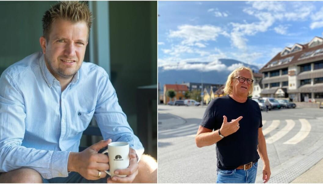 TIDLEGARE LEIARAR: Egil Mundal styrte Sogndal fotball frå 2010-2017, Rasmus Mo frå 2019-2021.